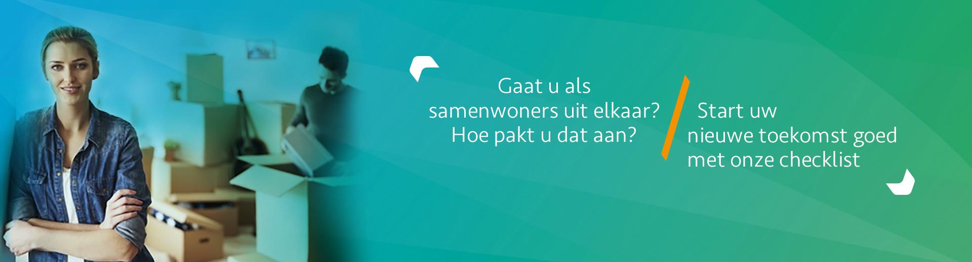 Samenwonen en uit elkaar gaan, wat nu? Met checklist - Scheidingsplanner Den Haag & Rijswijk